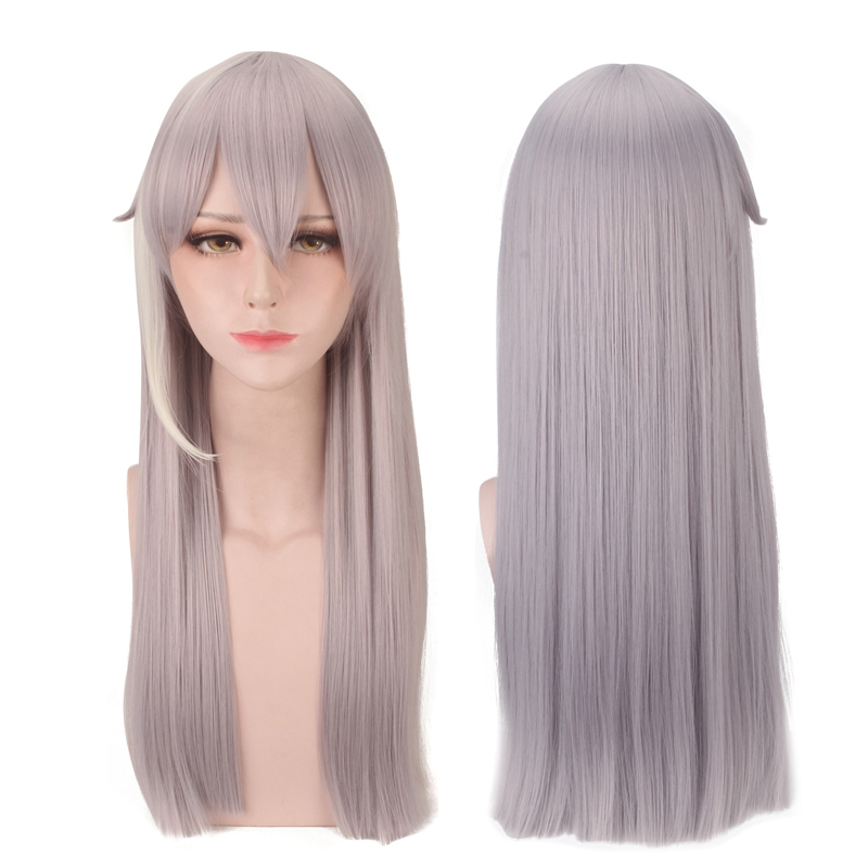 Game IDOLiSH7 Re:vale YUKI Long Wig Cosplay Costume Men Heat Resistant Synthetic Hair Halloween Party Role Play Wigs
