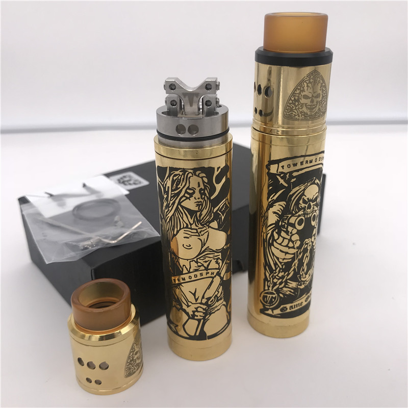 SUBTWO Mech Mod 24mm Diameter 18650 Battery Vape Pen Mechanical Mod Vaper Kit Vs SOB MOD VS ROGUE Mod Vaporizer