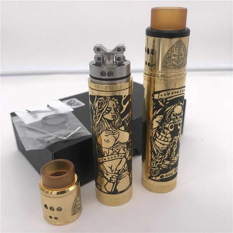 SUBTWO Mech Mod 24mm Diameter 18650 Battery Vape Pen Mechanical Mod Vaper Kit Vs SOB MOD VS ROGUE Mod Vaporizer