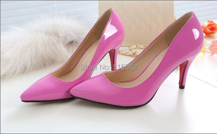 2016 hot new sexy pointed toe stiletto high heels font b shoes b font women s