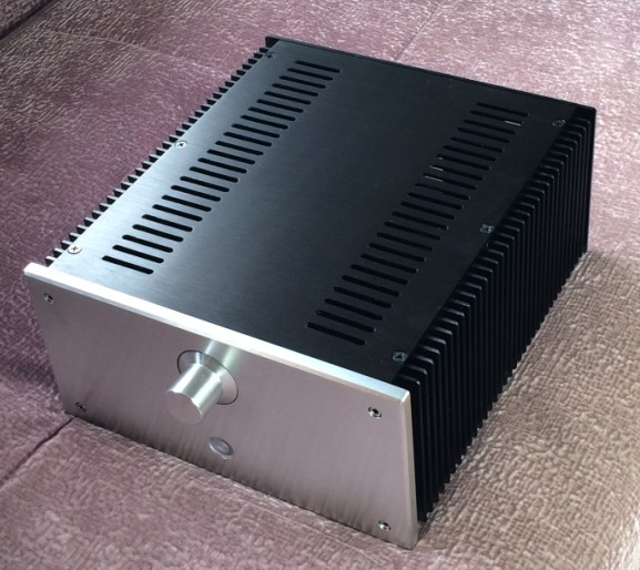 ФОТО WANBO Audio 2412B Full Aluminum MINI Audio box/ power amplifier case/AMP case/ amplifier case  240*120*271mm (w*h*d)