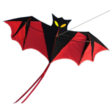 Children Bat Kite Sports Outdoor Flying Toy Games For Running Happy Time Baby