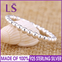 LS Hot Sale High Quality Real 925 Sterling Silver Eternal Clouds Stackable Ring, for Woman Sterling Silver Fine Jewelry N