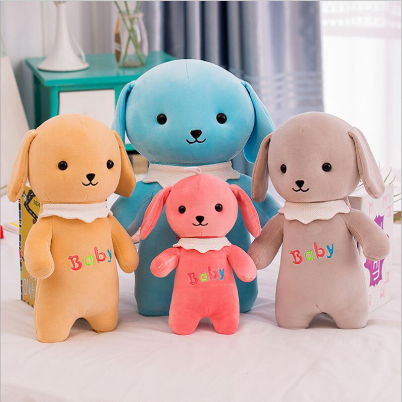 Lovely Baby Dog Plush Toy PP Cotton Stuffed Animal Doll Creative Gift Send to Children