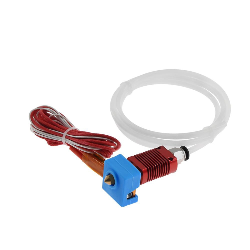 3D Printer Mk8 Assembled Extruder Hot End Kit 24V For Ender-3 Cr10 Printer 1.75Mm 0.4Mm Nozzle Printer Aluminum Heating Block