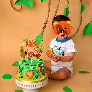 Image 4 - FENGRISE cartel de Aniaml para decoración de jungla, fiesta de cumpleaños, jungla, Fiesta Temática, fiesta de Safari, Baby Shower