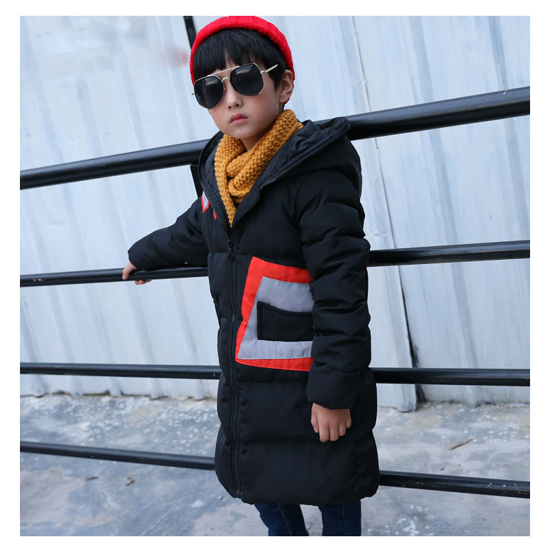 hooded children jackets boys girls white duck down coats casual kids winter warm long outwear solid color for 5 12 8 10 15 years buenos ninos thick winter children jackets girls boys coats hooded raccoon fur collar kids outerwear duck down padded snowsuit