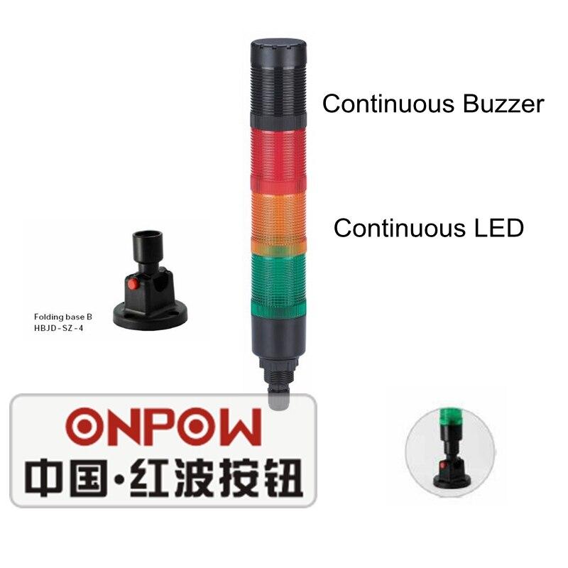 Lampada Segnale LED 22mm 24v AC//DC VERDE
