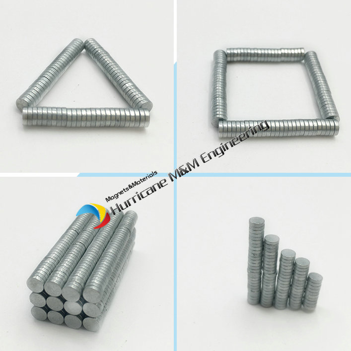 1 pack Dia. 4x1 mm Jewery Magnet NdFeB Disc Magnet Neodymium Permanent Magnets Grade N35 Zinc Plated Axially Magnetized 1 pack dia 6x3 mm jelwery magnet ndfeb disc magnet neodymium permanent magnets grade n35 nicuni plated axially magnetized