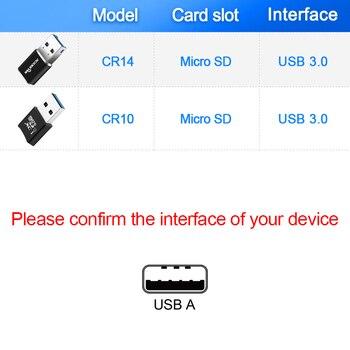 Rocketek usb 3.0 multi memory card reader adapter mini cardreader for micro SD/TF microsd readers computer laptop