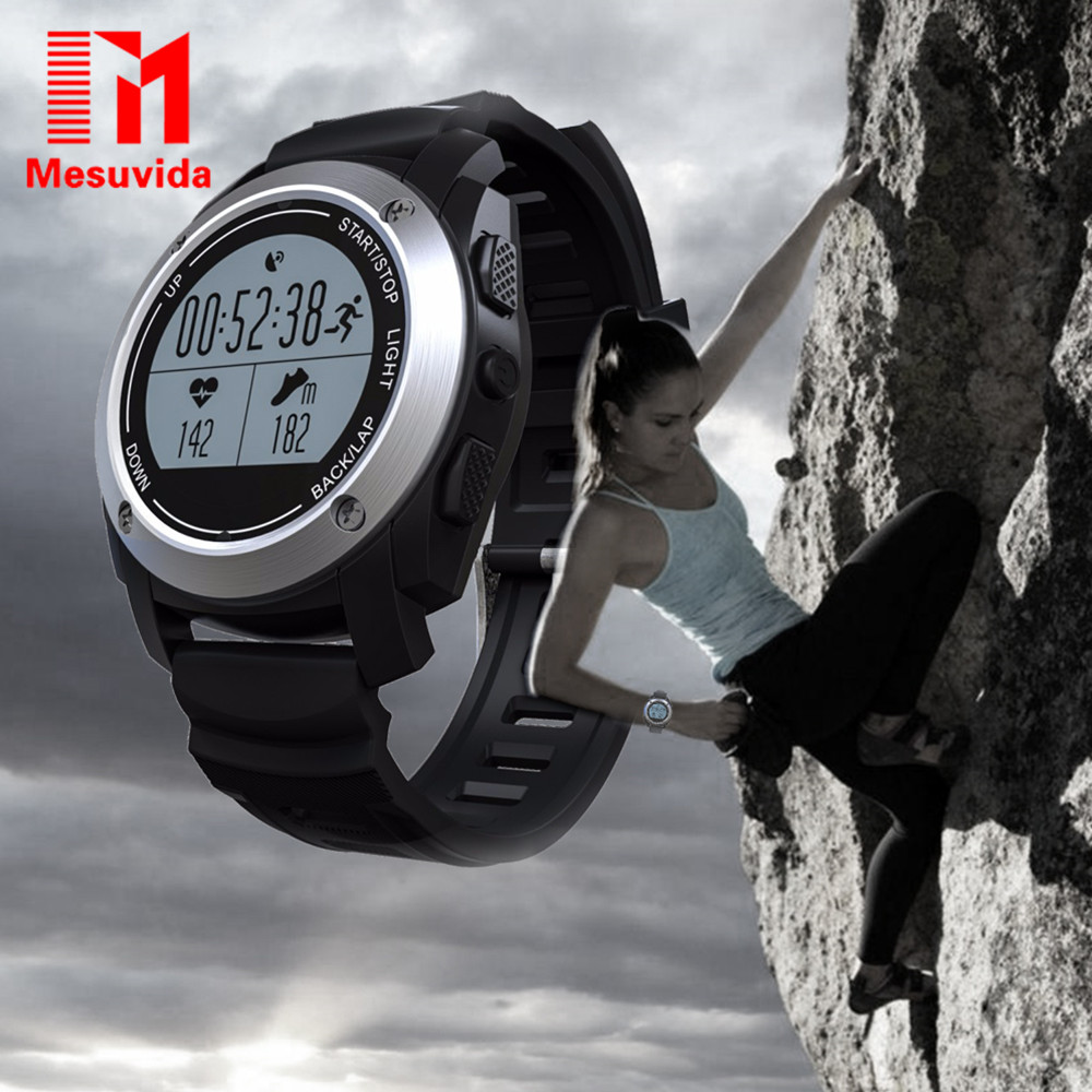 Mesuvida S928 Smart Watch MTK2502 Bluetooth Smartwatch Heart Rate Monitor Pedometer Watch For Android IOS Phone GPS Tracker