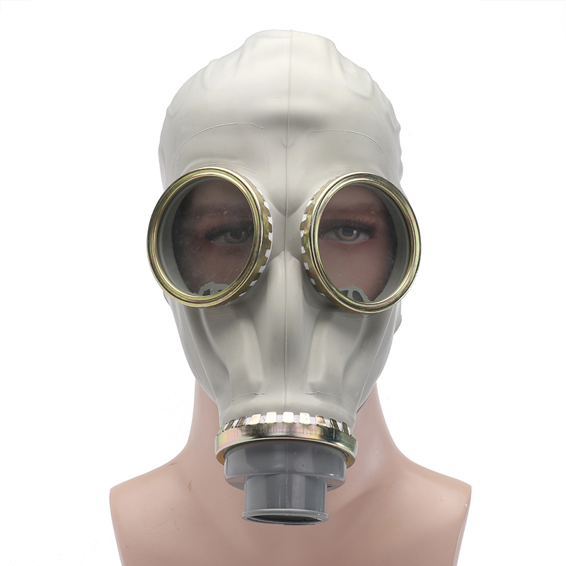 Industrial-safety Full Face Gas Mask Chemical Breathing-Mask Paint Dust Respirator Workplace Safety new safurance protection filter dual gas mask chemical gas anti dust paint respirator face mask with goggles workplace safety