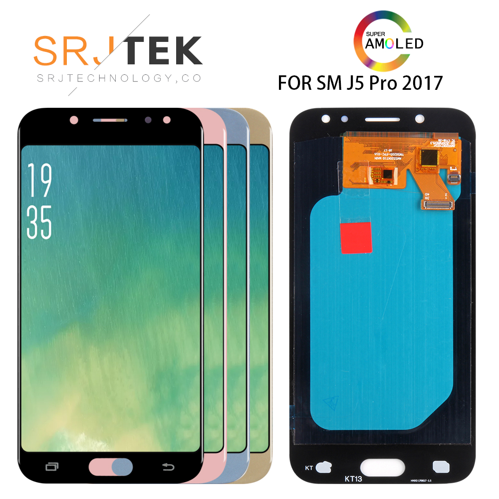 5.0 AMOLED  For SAMSUNG Galaxy J5 2017 J530 Pro J530F/DS J530Y/DS J530F J530FM Lcd Display Touch Screen Assembly Replacement5.0 AMOLED  For SAMSUNG Galaxy J5 2017 J530 Pro J530F/DS J530Y/DS J530F J530FM Lcd Display Touch Screen Assembly Replacement