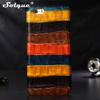 Luxury Colorful Genuine Leather Case For IPhone 6 6S For IPhone 6 Plus 6S Plus 5