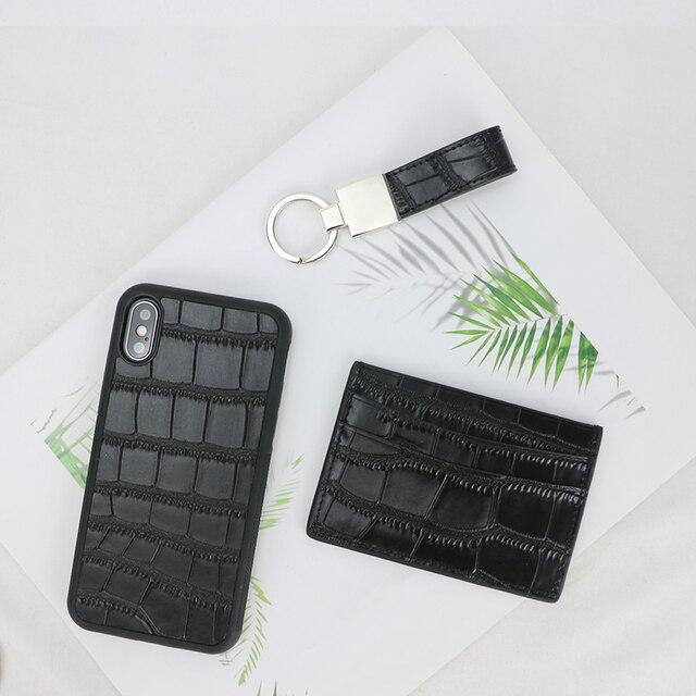 Classic Crocodile Pattern Wallet  1