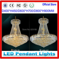 Official Store Unique French Empire Crystal Chandelier Light Gold Chrome Crystal Chandelier Flood Lighting