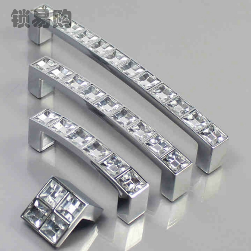 Modern Silver Door Pulls Handles Square Drawer Knob Cabinet Wardrobe Cupboard Door Knobs Decor Hardware Accessories MBS4042 furniture drawer handles wardrobe door handle and knobs cabinet kitchen hardware pull gold silver long hole spacing c c 96 224mm
