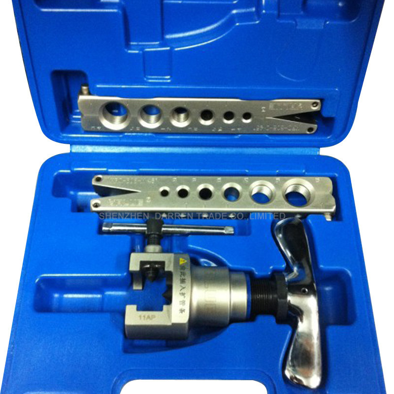 ФОТО 1 set VFT-808-MI  Electric Flaring Tool for Refrigeration tools case Refrigeration repair tool