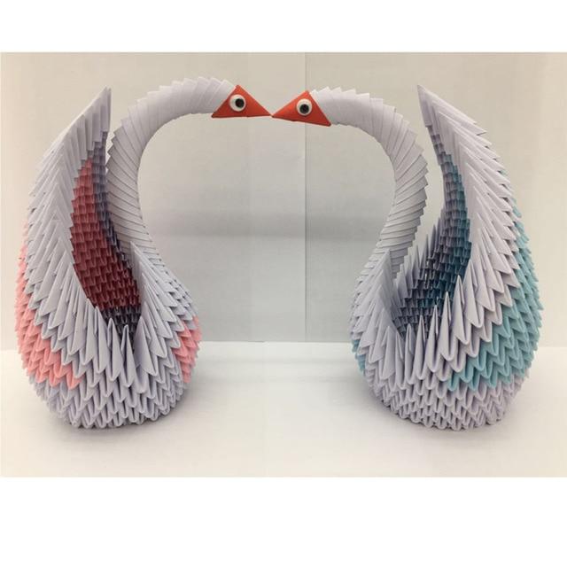 Origami Paper Diy Lovers Swan Scrapbooking Paper Set Scrapbook Paper