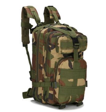 Moški Ženske Vojaški nahrbtnik Trekking maskirni nahrbtnik črna - Nahrbtniki