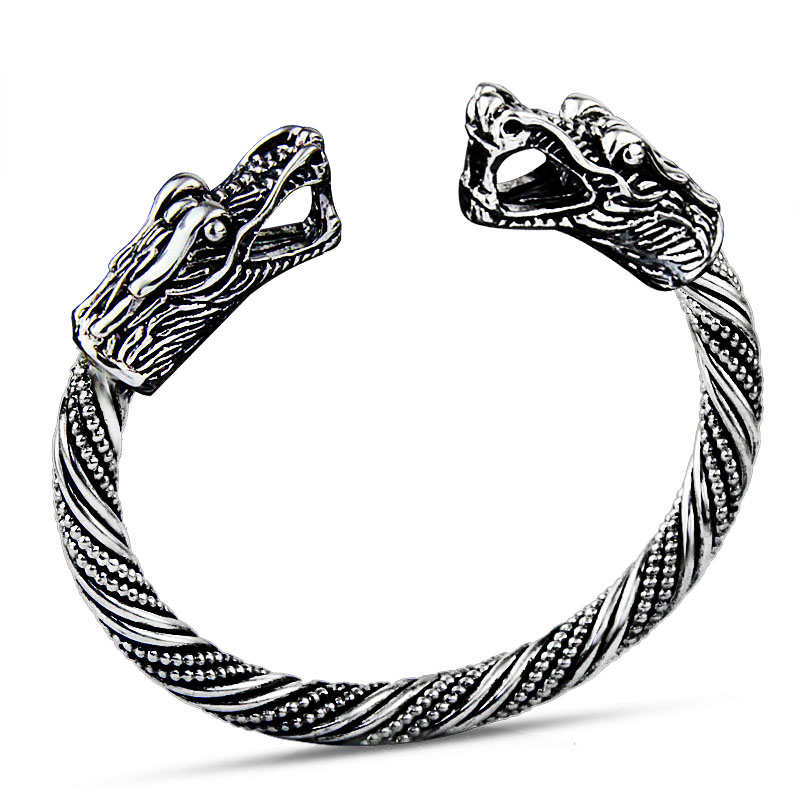 LAKONE Teen Wolf Bracelet Indian Jewelry Fashion Accessories Viking Bracelet Men Wristband Cuff Bracelets For Women Bangles