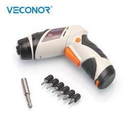 Casa 6 v bateria seca sem fio chave de fenda elétrica broca ferramenta elétrica com luz led (baterias não incluídas)
