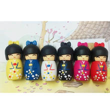 pendrive 64g usb flash drive 32g pen drive 16g 8g 4g new style Japanese doll toy Hot Sale pendrive Usb2.0 free shipping Gift