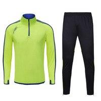 The Latest Football Training Kit Football Tracksuit Soccer Tracksuit Jackets Football Jersey Sportswear Running Suit