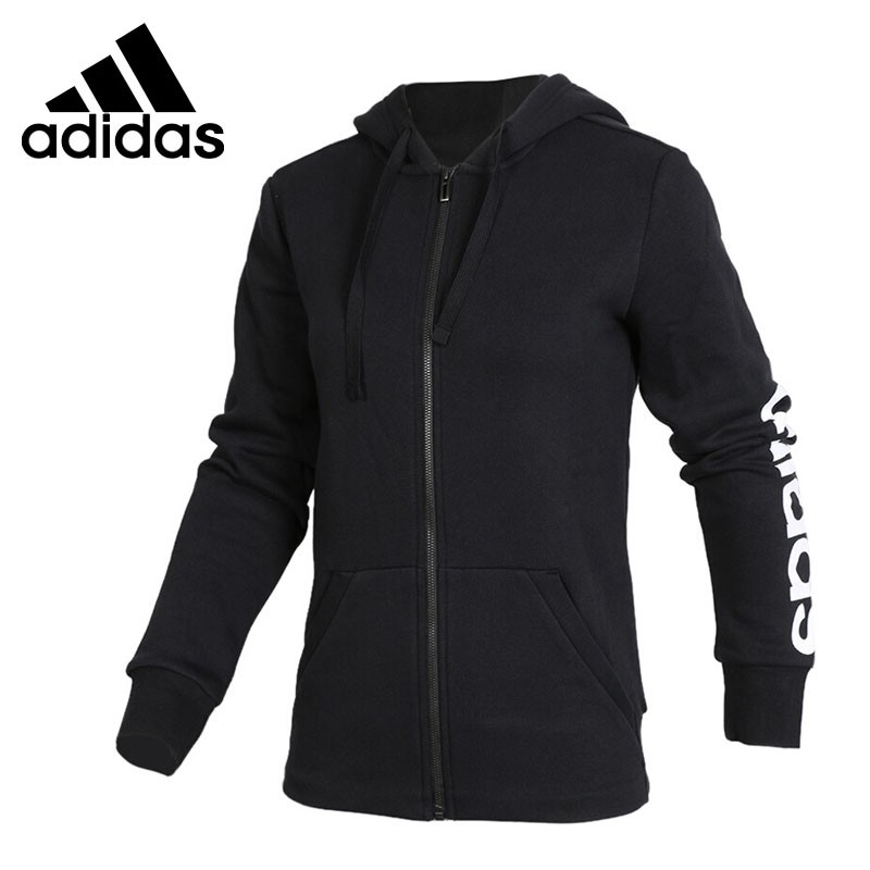 Original New Arrival 2017 Adidas ESS LIN FZH FL Women's jacket Hooded Sportswear original new arrival 2017 adidas wb lin lightwgt men s jacket hooded sportswear