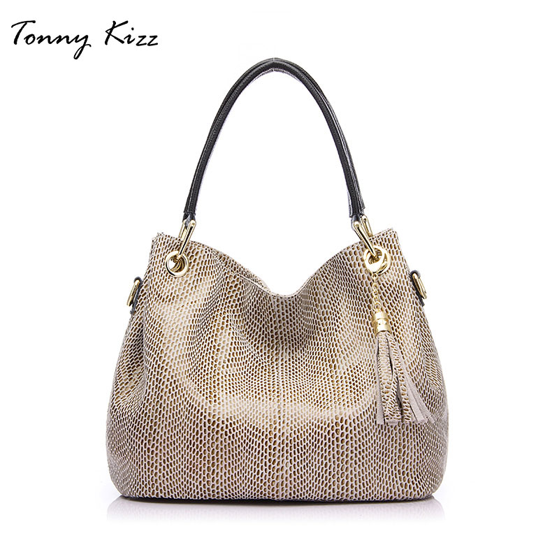 Tonny Kizz fashion handbags for women 2018 genuine leather shoulder bags female casual tote bags high quality animal printsTonny Kizz fashion handbags for women 2018 genuine leather shoulder bags female casual tote bags high quality animal prints