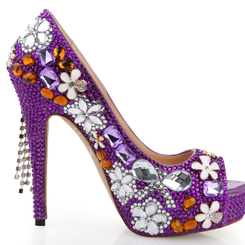 Popular Purple Peep Toes-Buy Cheap Purple Peep Toes lots from