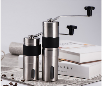 Reusable Coffee Filter Holder Washable Stainless Steel Brew Drip Coffee Filters for Espresso Manual Coffee Bean Mill Grinder 6