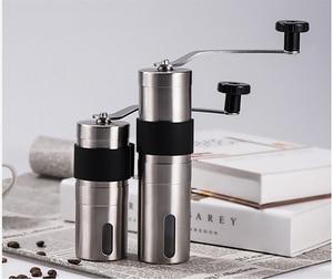 Image 5 - Многоразовые фильтры для кофе, моющиеся капельные фильтры из нержавеющей стали для приготовления кофе эспрессо, ручная мельница для кофейных зерен