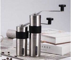 Image 5 - Yeniden kullanılabilir kahve filtresi tutucu yıkanabilir paslanmaz çelik demlemek damla kahve filtreleri Espresso manuel kahve çekirdeği değirmeni