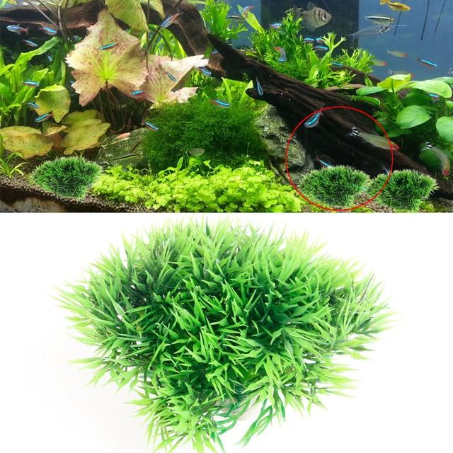 Simulation Aquarium Plants Ornament Green Plastic Aquatic Plants Fish Tank Decor