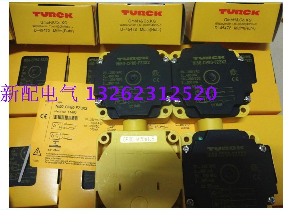 NI50 CP80 FZ3X2 Turck New High Quality Proximity Switch Sensor