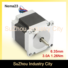 NEMA 23 CNC Stepper Motor 57×56 nema 23 stepping motor 3A 1.26N.m stepping motor 180Oz-in for CNC engraving machine 3D printer