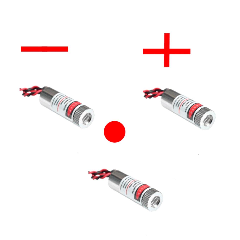 650nm 5mw Cruz Roja láser módulo de 5v de grado industrial