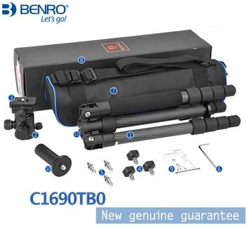 Benro C1690TB0 Carbon Fiber Tripod For Camera with B0 Ball Head Travel light tripod Max Loading 8kg