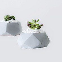 Concrete Round Pot Mold Handmade Succulent Cactus Planter Silicone Molds for Cement Flower pot Vase Pend Holder Container Mould
