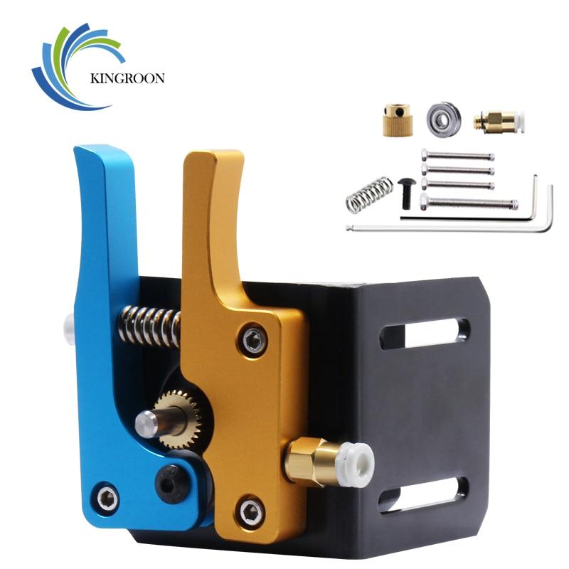KINGROON Full Mental Direct Bowden MK8 Extruder Kit With Wrench MK8 1.75MM Filament Hotend Remote Extruder 3D Printer DIY Kit 2