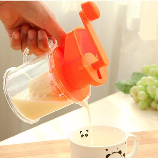 manual fruit exprimidor Soybean milk machine creative kitchen gadgets