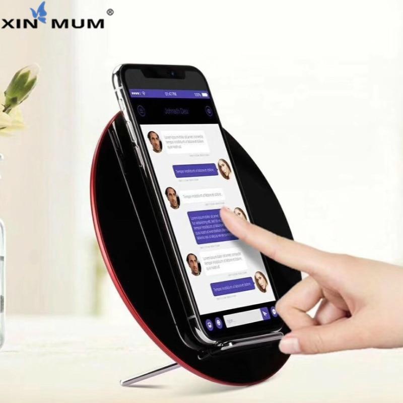 Chargeur rapide sans fil Qi 10 W pour iPhone XS Max XR X/8/8plus/Samsung Galaxy Note 9/Note 8/S9/S9 S8 Plus chargeur rapideChargeur rapide sans fil Qi 10 W pour iPhone XS Max XR X/8/8plus/Samsung Galaxy Note 9/Note 8/S9/S9 S8 Plus chargeur rapide