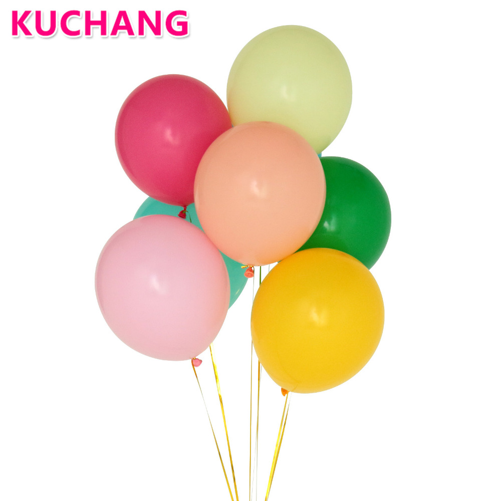 "20 Yellow Balloons 11/"" Helium Latex Wedding Party"