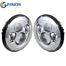 7 inch led headlight for Jeep Wrangler jk cj  headlamp projector headlights Lada Niva 4x4 Hummer Land Rover