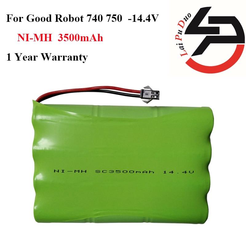 14.4 В 3500 мАч Ni-MH батарея для хороший робот 740 750 С NTC PTC защита от перегрузки по току