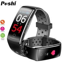 Luxury Smart Watch Blood Pressure Monitor Calorie Pedometer Sport Wristwatch For Women Men Message Remind Digital Watches 2019