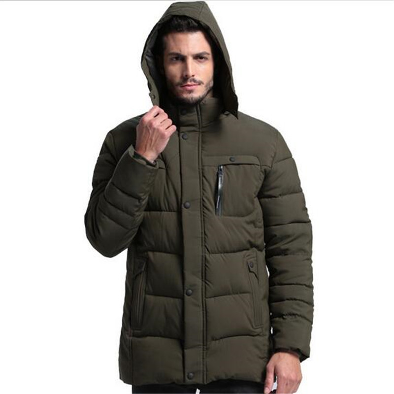 Winter New Brand Fashion Men Cotton Parkas Casual Thick  Warm Parkas European Style High Quality  Outwear For Male  A3591 2017 famous designer brand upscale high quality cotton men jeans trouser european and american casual style pant for male jeans