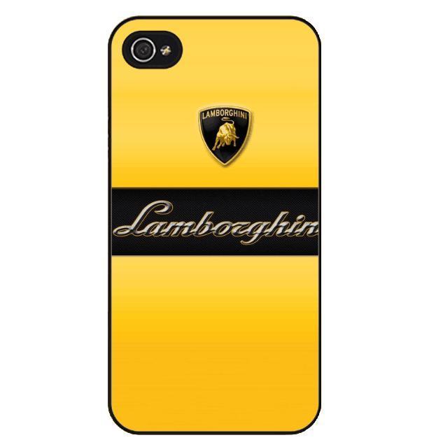 Lamborghini Logo iPhone Cases (3 Types)
