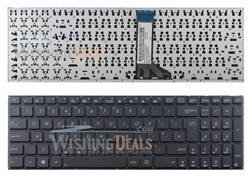New UK keyboard for ASUS F554 F554L F554LA F554LD F554LI F554LJ F554LN F554LP